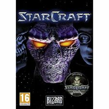 StarCraft with Brood War Expansion Pack Brand New PC & MAC Star Craft Broodwar