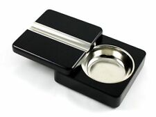 Black Swing Executive Wooden Cigar Ashtray