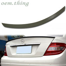 """IN STOCK LA MERCEDES BENZ W204 A TYPE REAR TRUNK SPOILER 4D C250 C180 C300"