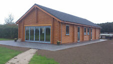 Award Winning Farm Office Log Cabin - Self Build, Partial Build or Turnkey