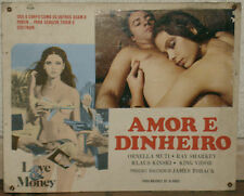 ORNELLA MUTI KLAUS KINSKI KING VIDOR LOVE AND MONEY LOCANDINA PORTOGALLO