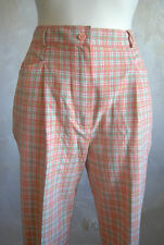 sweet Alice Collins check tartan high waist peg trousers pants 12