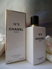 CHANEL No5 BATH GEL / GEL MOUSSANT 200ml EARLY POTENT FORMULA NEW BUT DENTED BOX