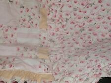 NAVA'S DESIGN CELEBRITY NURSERY BEDDING USA SHABBY CHIC PATCHWORK ROSES RUFFLES