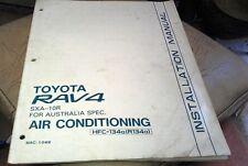 1994  TOYOTA RAV 4  Air Conditioning Installation Manual