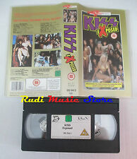 VHS KISS Exposed 1991 uk 4 FRONT VIDEO 083 544 3 90 MINUTI mc lp cd dvd(VM3)