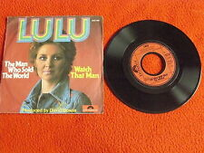 """LULU """"THE MAN WHO SOLD THE WORLD"""" disco 45 giri POLYDOR 1974 Ger BOWIE"""