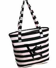 BNWOT Victoria's Secret Stripe Beach Tote Bag AE333