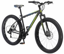 27.5 in Mongoose Mountain Bike Plus Size Tire Disc Brake, Grey