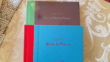 100% Authentic Hermes Philippe Dumas Sketch Books - 2x  - Birkin -