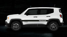 JEEP RENEGADE SIDE STRIPES DECALS STICKERS