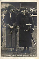 Doncaster. Princess Mary at Doncaster Races Sep. 1922 # E.1 by ELS.