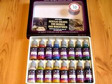 AV Vallejo Extra Opaque Colours Acrylic Paint Set For Models