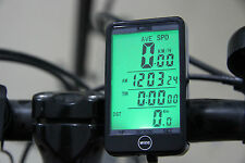 NEW WIRELESS BICYCLE CYCLE COMPUTER BIKE SPEEDO SPEEDOMETER + TOUCH!