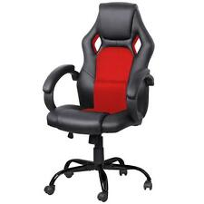 High Back Race Car Style Bucket Seat Office Desk Chair Gaming Computer Chair New