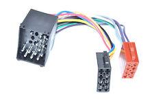 BMW DIN ISO 3er 5er  E30 E36 E46 E34 E39 E32 E38 E31 Stecker Radio Adapter Kabel