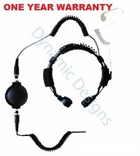 For Kenwood THF7 K20 K40 TK2000 TK2140 TK2302 TK2312 TK2317 Throat Microphone