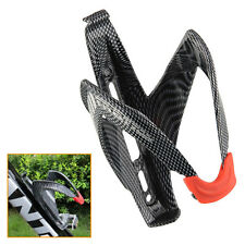 Carbon Fiber Bicycle Bike Cycling Drink Water Bottle Holder Rack Cage Bracket