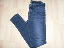 *RIVER ISLAND*CURRENT*AMELIE SUPER SKINNY JEANS INDIGO*UK10R*£45