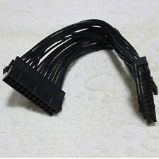 18AWG computer PC 24Pin 20+4pin male to female ATX Power Supply extension  cable