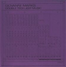 """GIOVANNI MARKS Double Tech Jeep Music NEW HIT + RUN COLORED VINYL 10"""" HIP-HOP"""