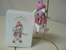 Hallmark Ornament 2012 ONE COOL GIRL NEW Snowgirl Music Pink