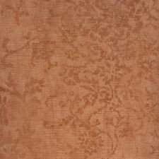 BC1580579 AT0361691VP Rust Orange Faux Floral Scroll Wallpaper