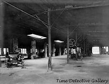 Inside the Carter Twin Engine Auto Plant, Hyattsville, MD - Historic Photo Print