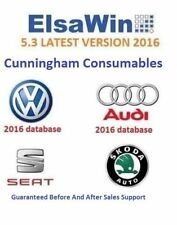 ELSAWIN 5.3 2016 Audi Volkswagen Seat Skoda Service Repair Manual WINDOWS FULL