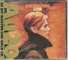 Bowie, David Low 24 Carati oro CD Ryko au20 NUOVO OVP SEALED RCD 80142