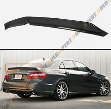 2010-2016 MERCEDES BENZ W212 E63 AMG SEDAN HIGH KICK CARBON FIBER TRUNK SPOILER