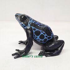 Blue Poison dart Frog Frogs PVC Figure figurine 6cm