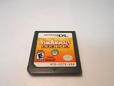 SimAnimals Africa (Nintendo DS) game lite dsi xl 3ds 2ds