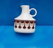 Arzberg Schumann  Vase mit braun/beigem Muster