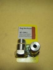 Spark Plug Non-Fouler 18mm thread with tapered seat 2/package - Dorman 42002