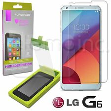 PureGear HD Tempered GLASS Perfect Alignment Tray Screen Protector for LG G6 OEM
