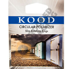 Kood CIRCULAR POLARISING FILTER 62mm CPL Slim / Thin Frame - for Camera Lens