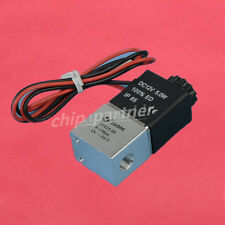 """1/8"""" Inch Plastic Electric Air Gas Water Solenoid Valve Normally Closed 12V DC"""