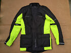 "FRANK THOMAS Mens Textile Motorbike / Motorcycle Jacket UK 36"" Chest (B9)"