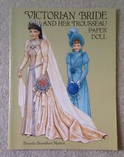 Victorian Bride and Her Trousseau Paper Doll by Brenda Sneathen Mattox  - New