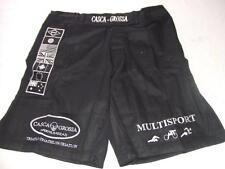 CASCA GROSSA TRIATHLON BLACK  MMA PT STREET FIGHT SHORT BOARD SHORT MEDIUM 32