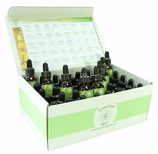 Set completo di 25ml Bach FLOWER Remedies in una scatola di carta