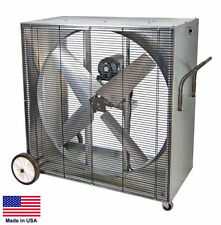 "BOX FAN Industrial - Belt Driven - 42""- 230 Volt - 1/2 Hp - 1 Phase - 13,000 CFM"