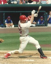 MARK MCGWIRE 8x10 ACTION PHOTO @Busch Stadium ST LOUIS CARDINALS Baseball Legend