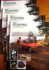 1979 Ford Accessories Brochure LOT (4) pcs Mustang T-Bird Pinto LTD