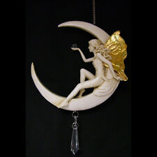 New Moon Fairy / Fairy Cyrstal  Catcher / cream & gold / Magical Fairies