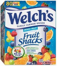 Welch's Fruit Snacks Mixed Fruit 80ct