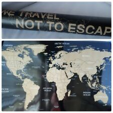 Big deluxe travel edition scratch off world map poster personalized deluxe travel edition scratch off world map poster personalized journal log gumiabroncs Images