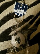 RAYADOS MONTERREY OFFICIAL KEYCHAIN SOCCER BALL WHITE/BLUE