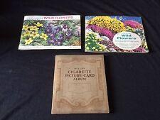 Three Brooke Bond / Wills Flower Themed Booklets